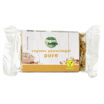 veganer powerriegel pure 95 g