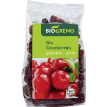 Biogreno Cranberries 125 g