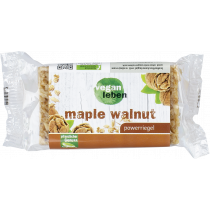 veganer powerriegel maple walnut 95 g