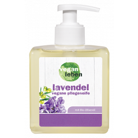 lavendel, vegane pflegeseife liquid 300 ml