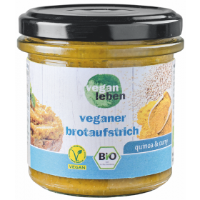 veganer brotaufstrich quinoa & curry 140 g