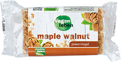 Thumbnail Powerriegel maple walnut